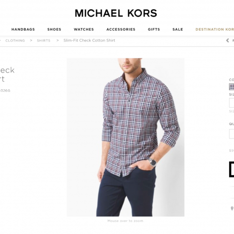 Michael Kors: E Commerce