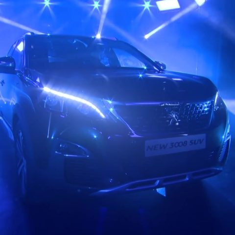 Peugeot 3008 SUV Live Reveal